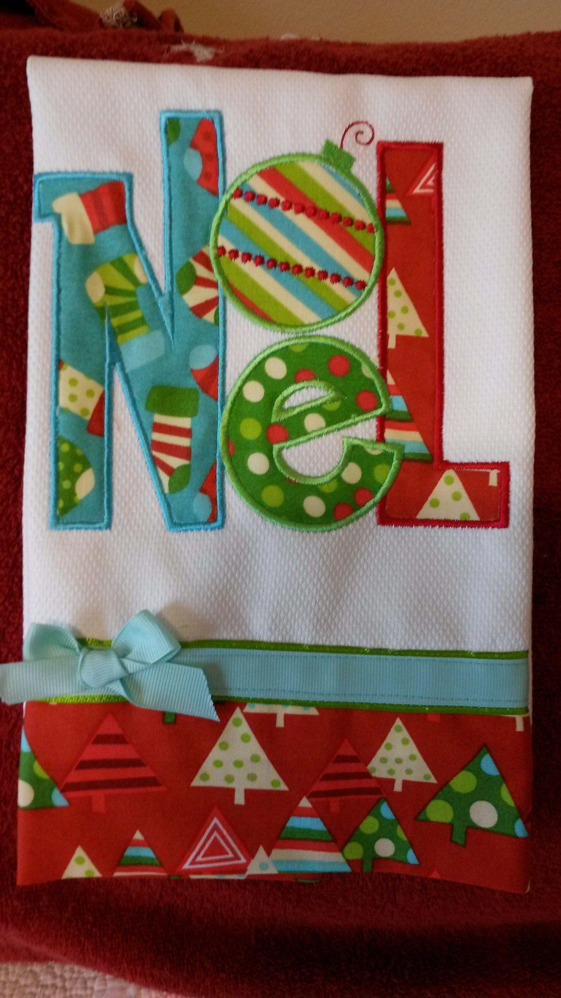 Christmas Tea Towels | Kitchen towels | Pinterest | Christmas tea ...