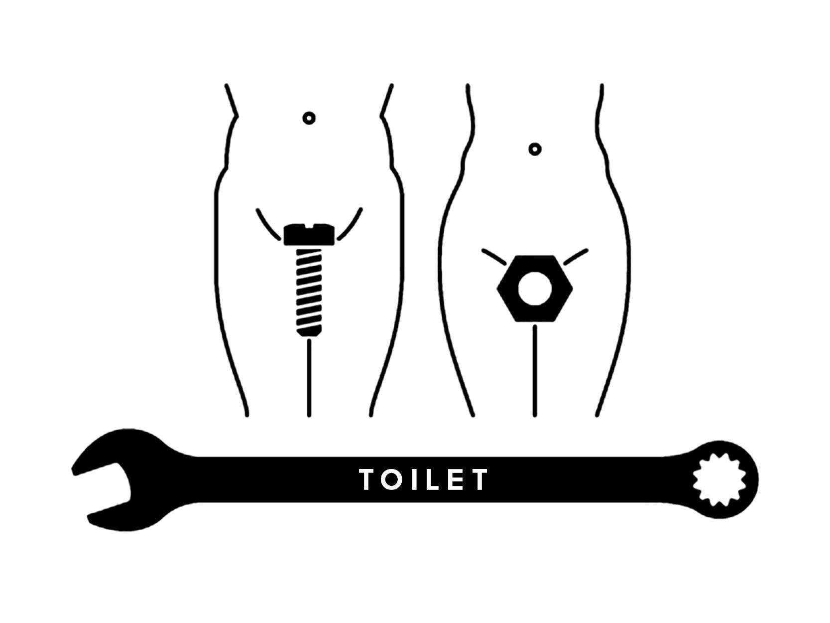 TOILET SIGN   Znakovi za kondut   Pinterest   Toilet, Creative and ...