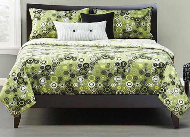 Green Bedding Sets Guest Bedroom Ideas Pinterest Green - Contemporary green comforter set