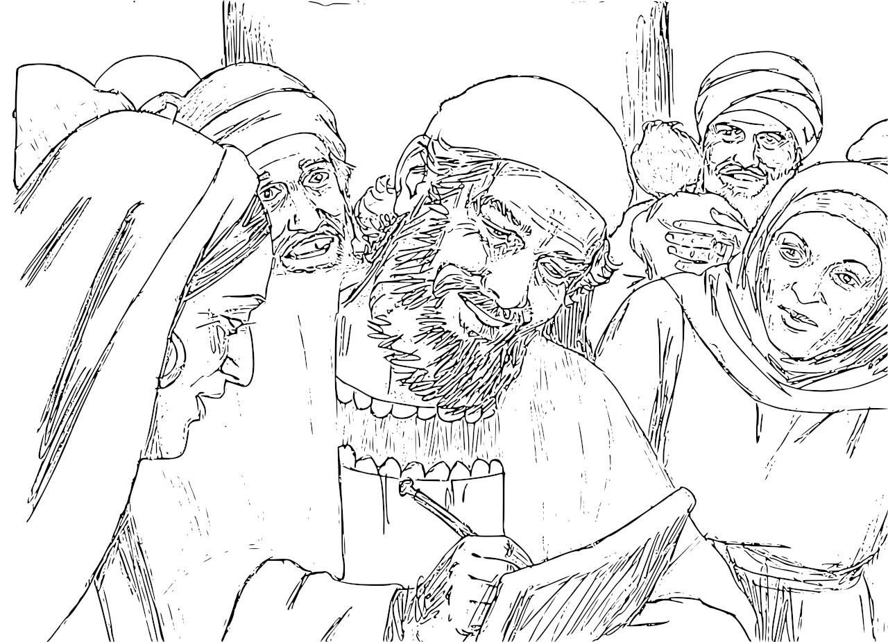 6 Printable Pictures For Telling The Story Of Zacharias Elisabeth And Baby John