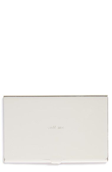 kate+spade+new+york+'call+me'+business+card+holder+available+at+#Nordstrom