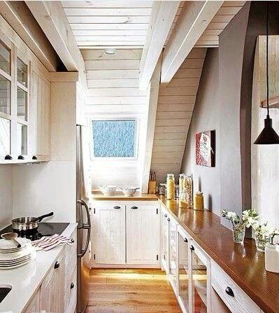 Small kitchen idea kitchen Pinterest Kitchens and House