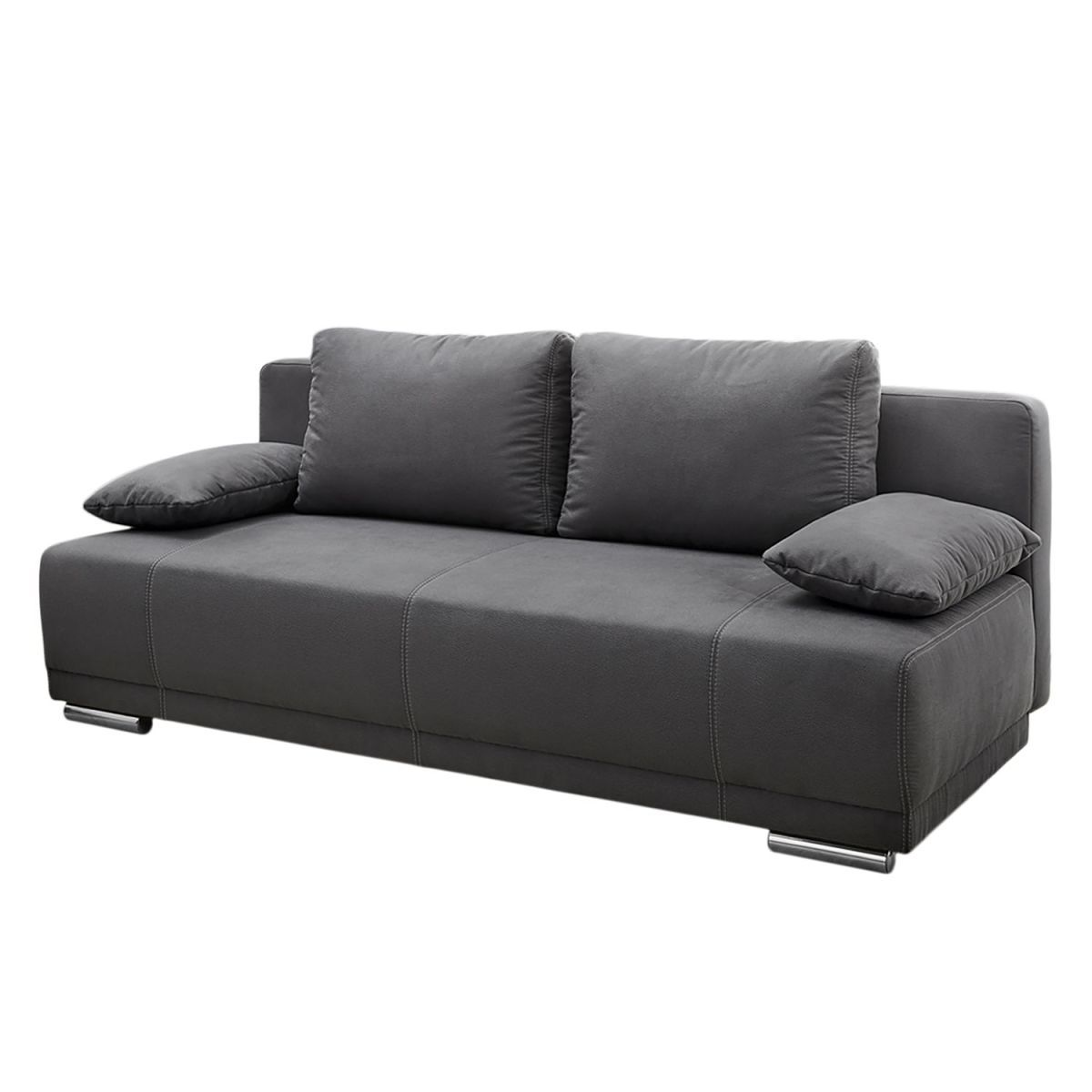 elegant schlafsofa freeland microfaser grau fredriks jetzt bestellen unter with fredriks modern. Black Bedroom Furniture Sets. Home Design Ideas