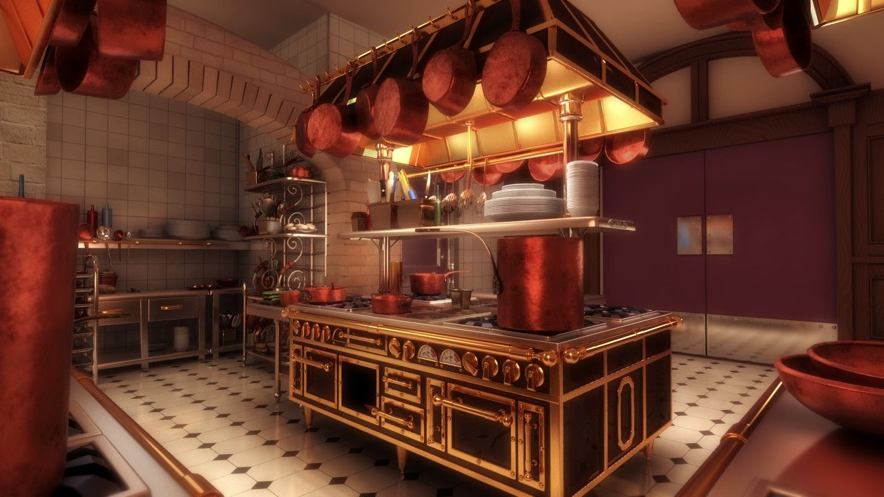 Making Of Ratatouille Kitchen Lightwave Arch Viz Making