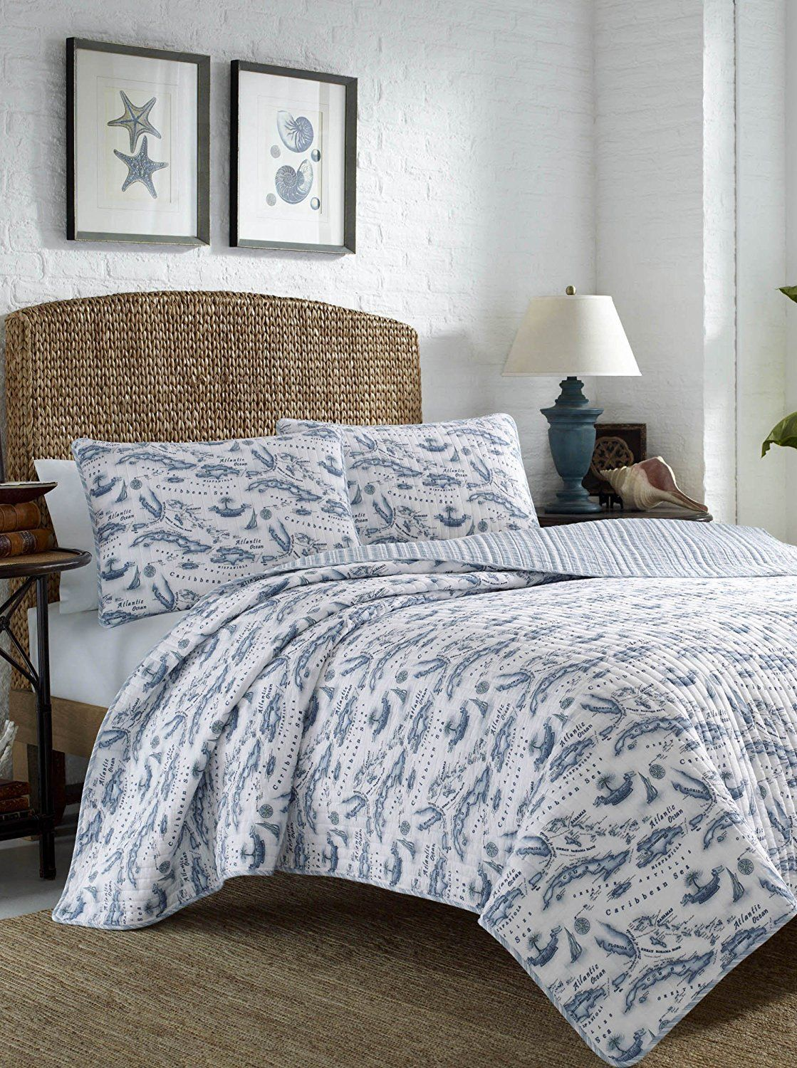 Tommy bahama map quilt set twin caribbean sea tommy bahama and tommy bahama map quilt set twin caribbean sea gumiabroncs Gallery