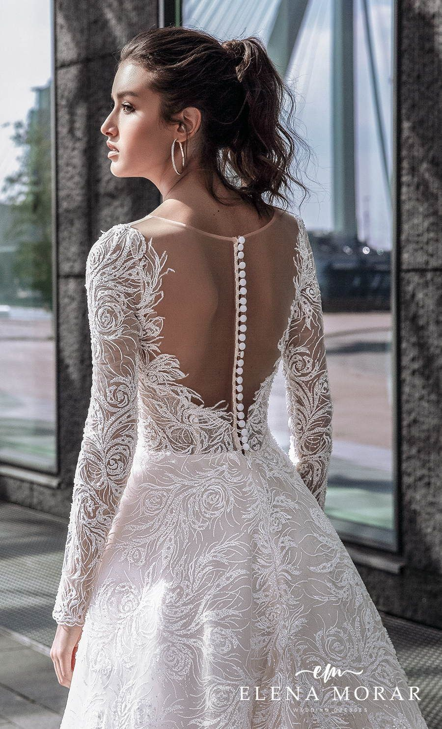 Elena Morar Perfioni Wedding Dresses Wedding Inspirasi Wedding Dresses Wedding Dress Long Sleeve Etsy Wedding Dress [ 1485 x 900 Pixel ]