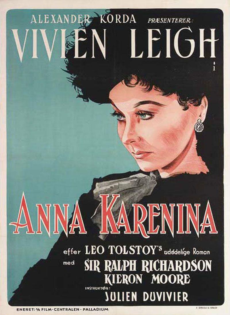 Ana Karenina Anna Karenina De Julien Duvivier 1948 Ana Karenina Cine Y Literatura Vivien Leigh