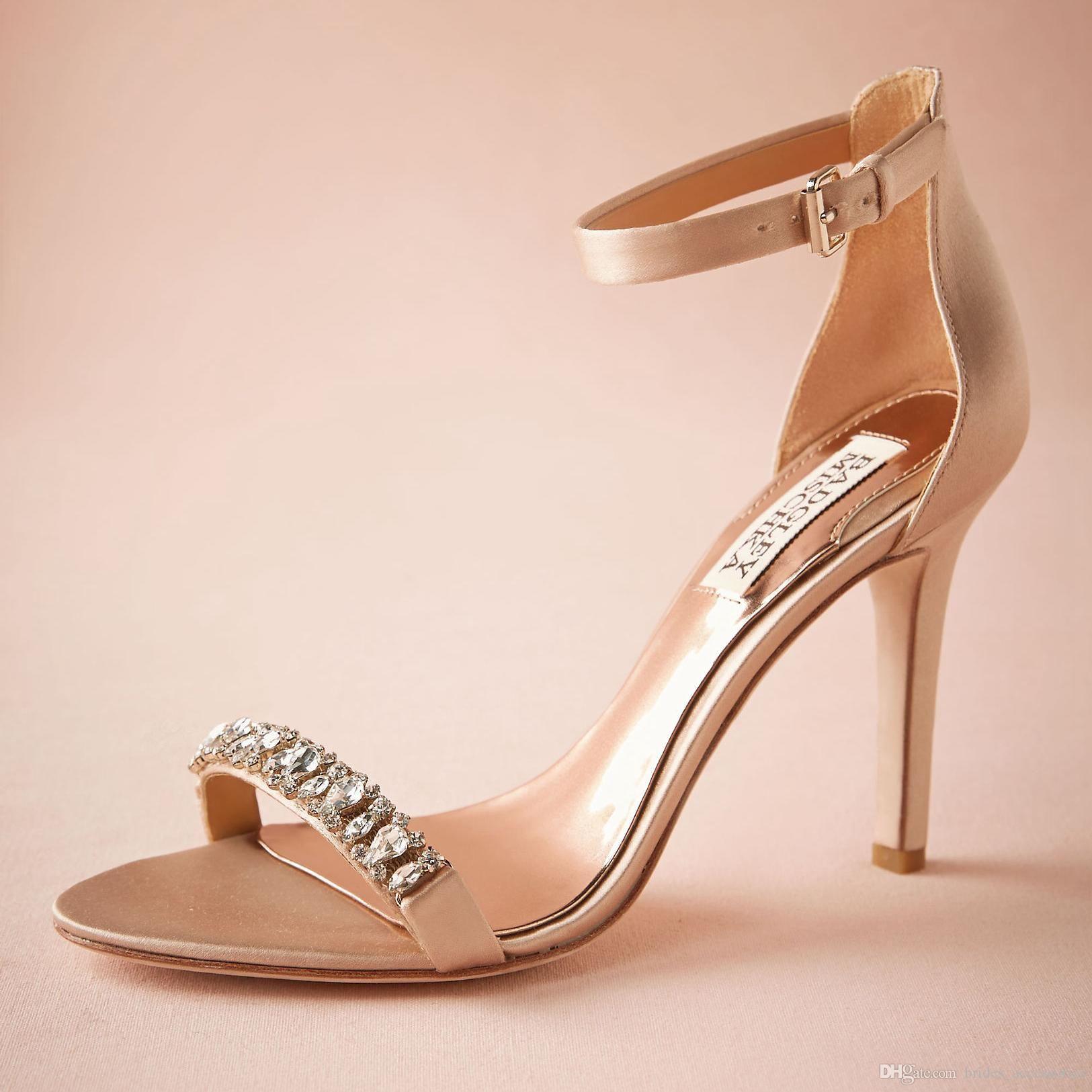 Blush wedding shoes fashion blush wedding shoes 35 satin