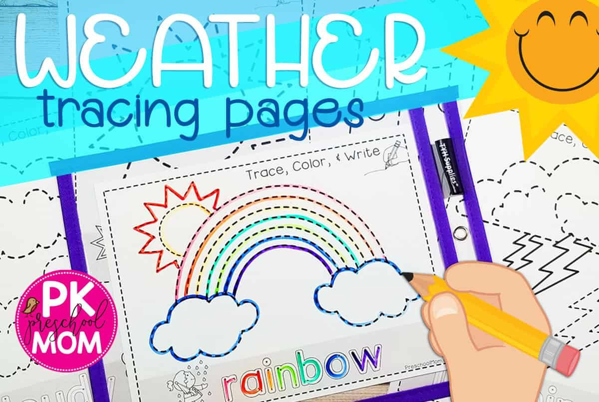 Weather Tracing Pages