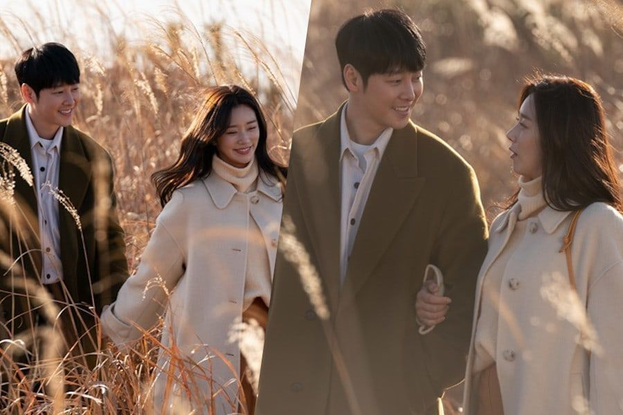 "Kim Dong Wook Shares A Romantic Walk With Lee Joo Bin In ""Find Me In Your Memory"""