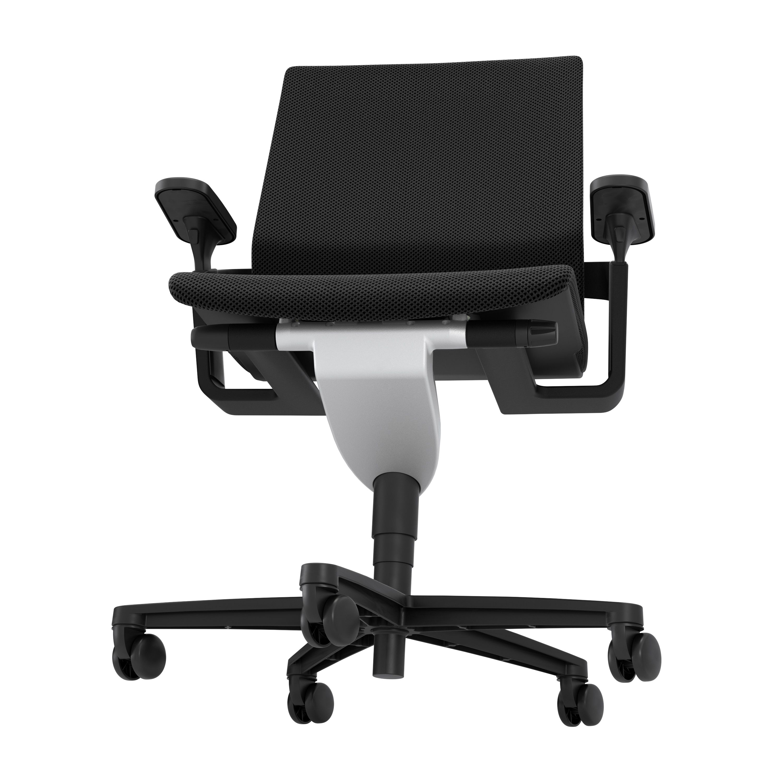 ON office chair with Trimension Black cover 3599 Three