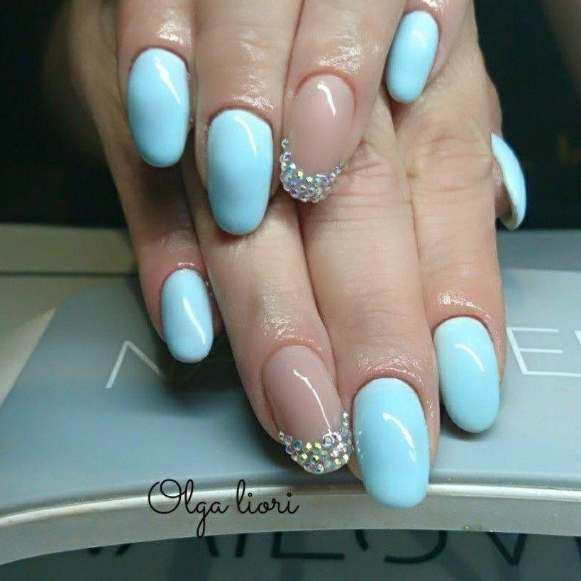 #swarovskicrystal nails