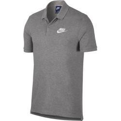 Nike Herren Polo Pq Matchup, Größe L in Grau/Weiß, Größe L in Grau/Weiß Nike