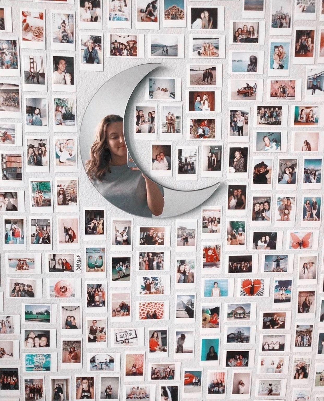 polaroid wall inspo   Dorm room decor, Dorm room ...