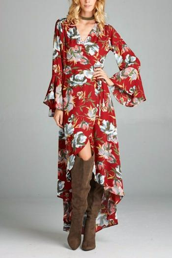 47.50$  Buy here - http://viuyv.justgood.pw/vig/item.php?t=fmumhrh31242 - Floral Maxi Dress 47.50$