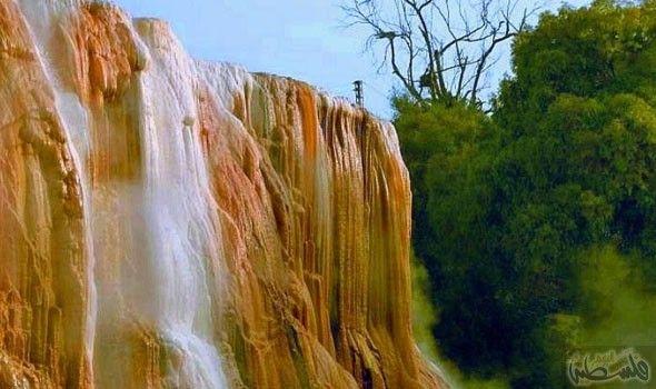 الشلال الساخن في الجزائر من أبرز الحمامات الصحية في العالم Instagram Waterfall Photo