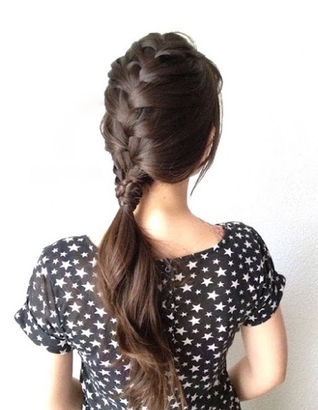 17 Romantic Braids for Valentine's Day… or EVERY Day via Brit + Co.