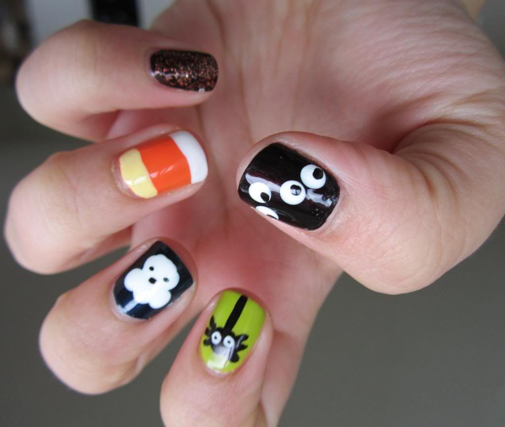 Twinkle tips a nail polish and konad stamping blog halloween nail
