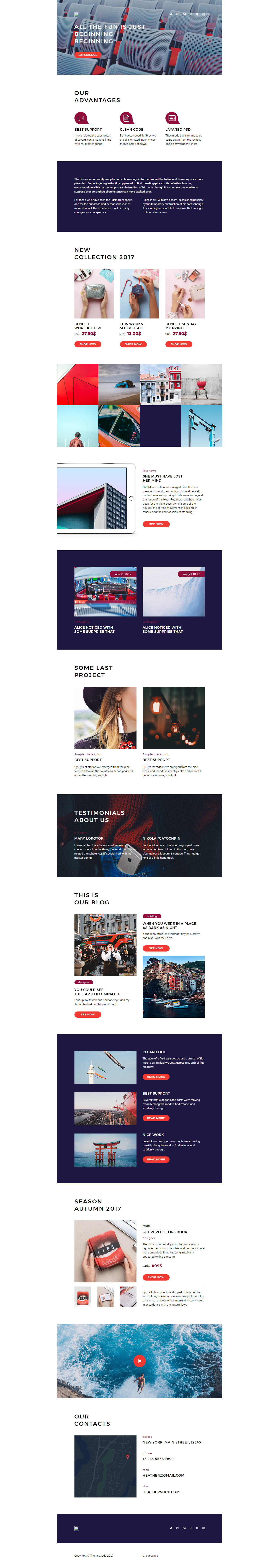 Design Editable Responsive Html Email Template  Email Campaign