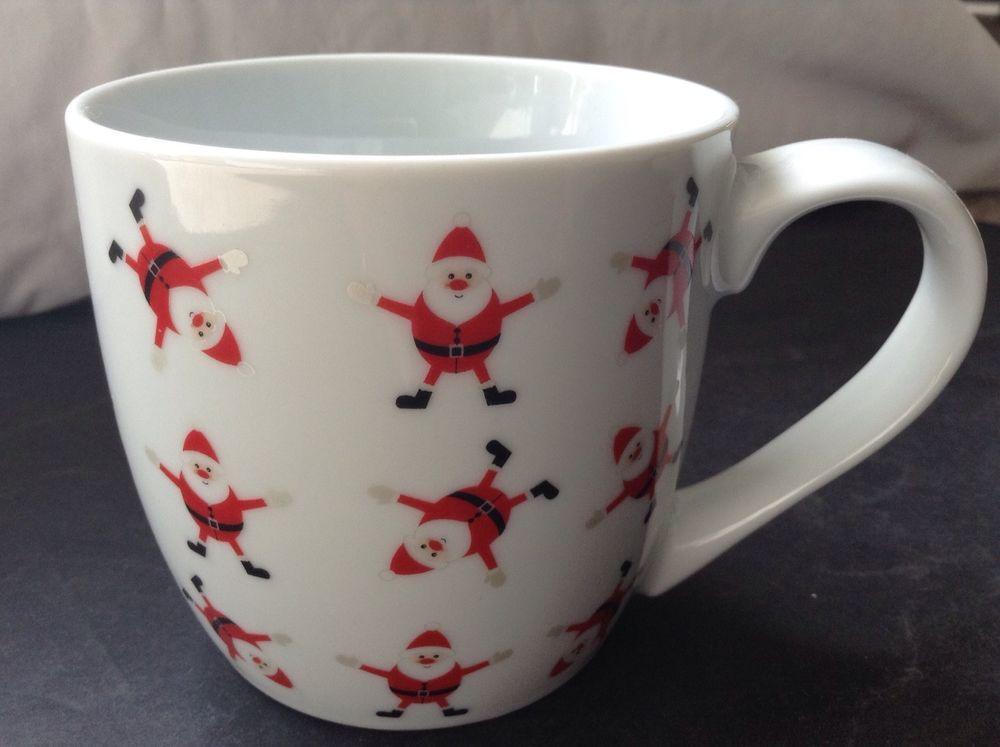 Coffee Mug Or Tea Cup. Christmas Santa Claus. Manufactured ...