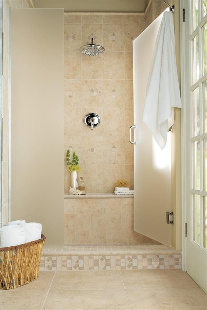 Porcelain Tile Ceramic Tile Brixton Floor Series Sand Bathroom