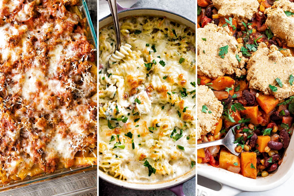 11 Casseroles to Double and Freeze! Get ahead of the game with these 11 incredible casseroles. They are freezer-friendly, make-head magic meal ideas. Keep one for yourself and give one to someone else. #casseroles #freezermeals #mealprep #simplyrecipes