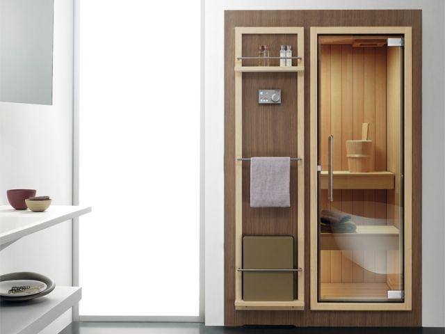 Sauna Koko Effegibi Kleines Bad Perfekt Handtuchhalter