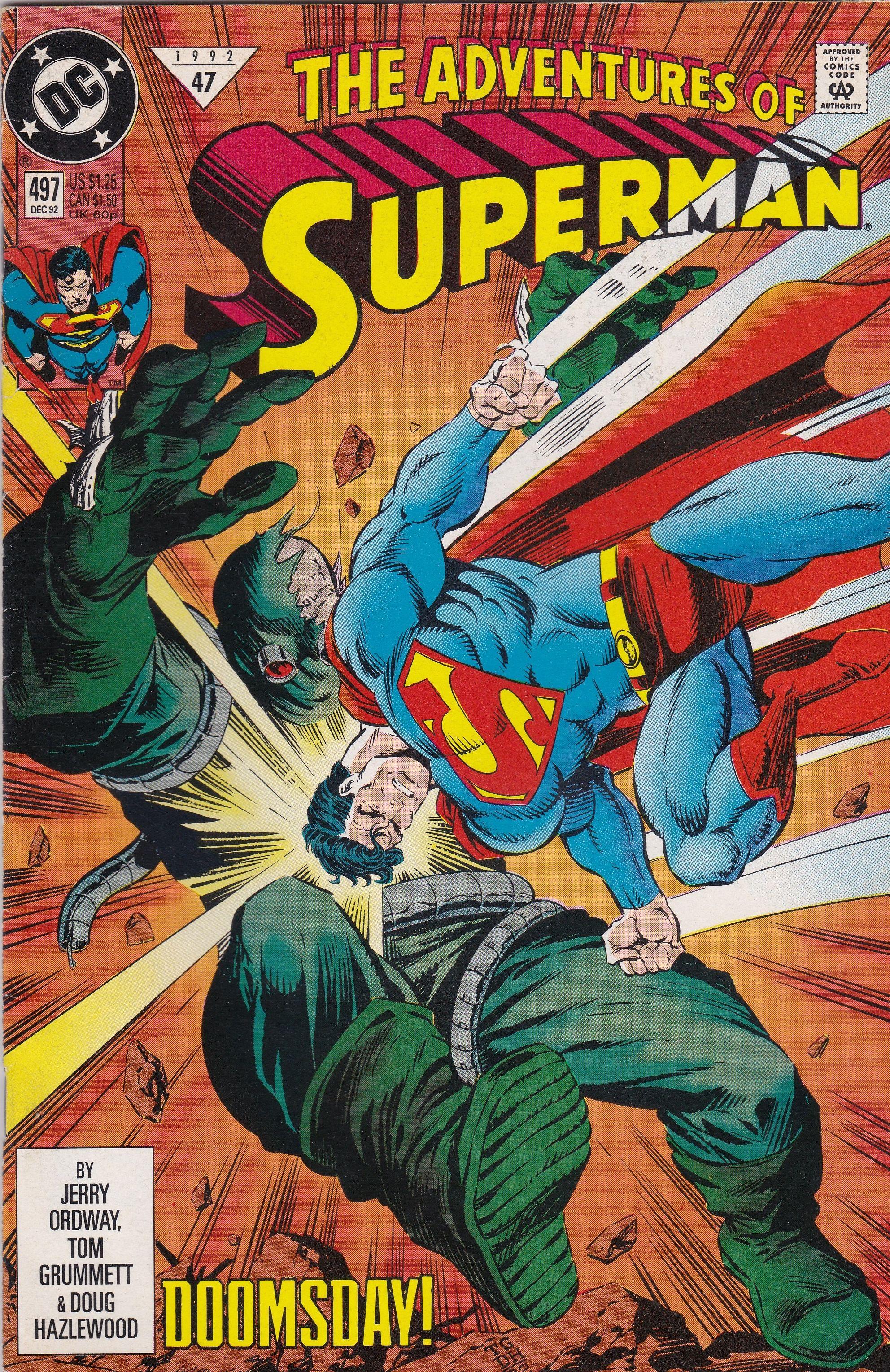 47 1992 Adventures Of Superman Superman Comic Books Superman Comic