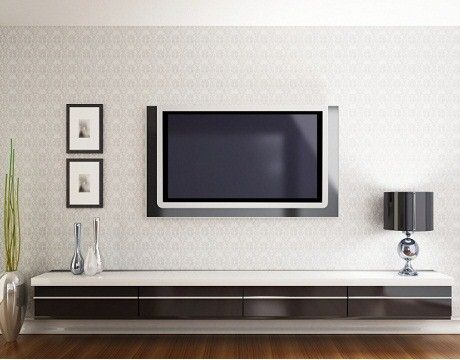 wall mounted credenzas for tvs | installation of plasma or lcd tv