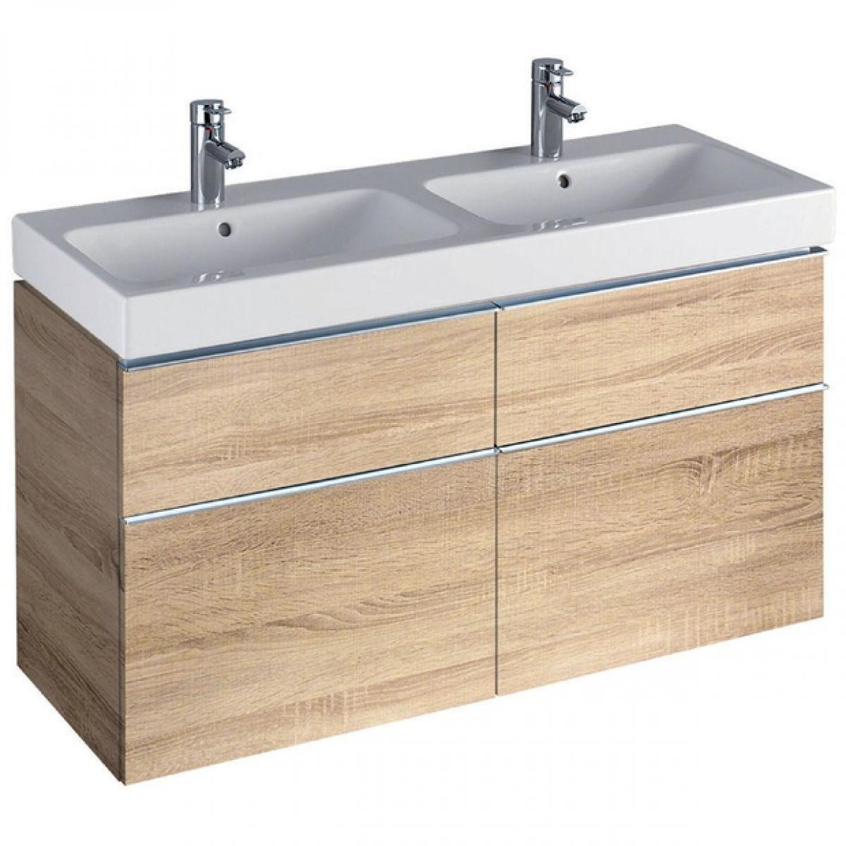 Geberit Icon 1200 Mm Vanity Unit For Double Washbasin Geberit Vanityunit Bathroom Onder Kast Wastafel Dubbele Wastafel