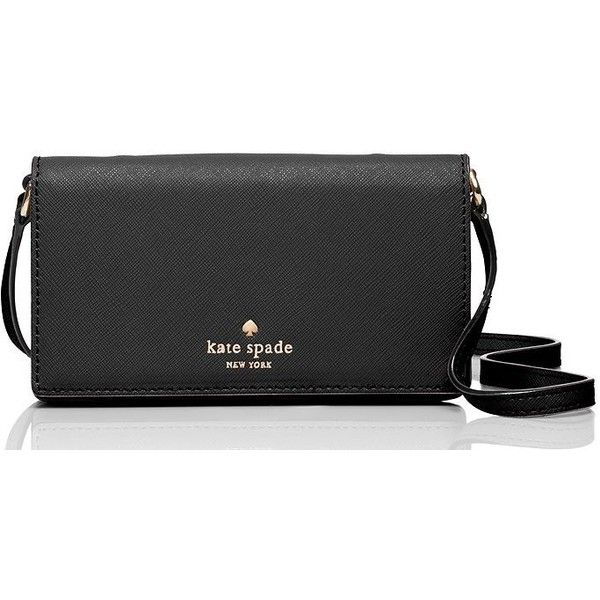 Kate Spade Iphone 6 Crossbody (355 BRL) ❤ liked on Polyvore featuring accessories, tech accessories and kate spade
