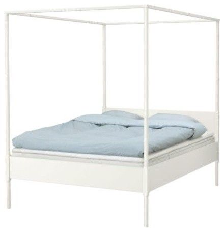 Edland Four Poster Bed Frame Modern Beds Four Poster Bed Ikea Bed Four Poster Bed Frame