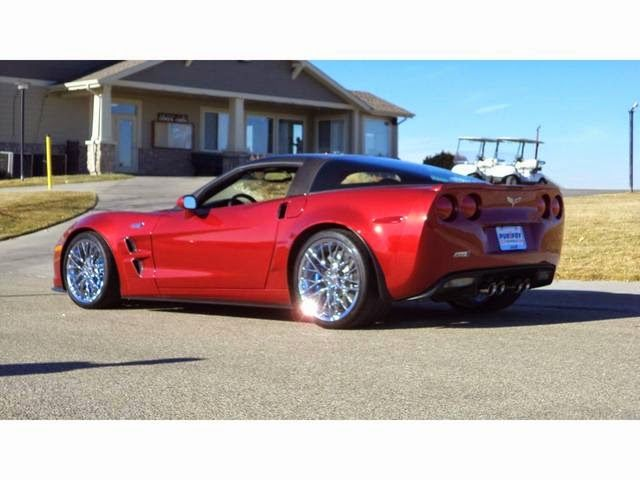 2011 Chevrolet Corvette ZR1 Crystal Red Metallic