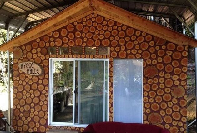 Cordwood Homes Construction