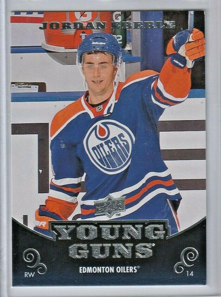 Jordan Eberle Young Guns 2010 11 Upper Deck Rc Rookie Card