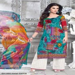Buy Now Online Stylist Straight Suits with Amukta Fashions