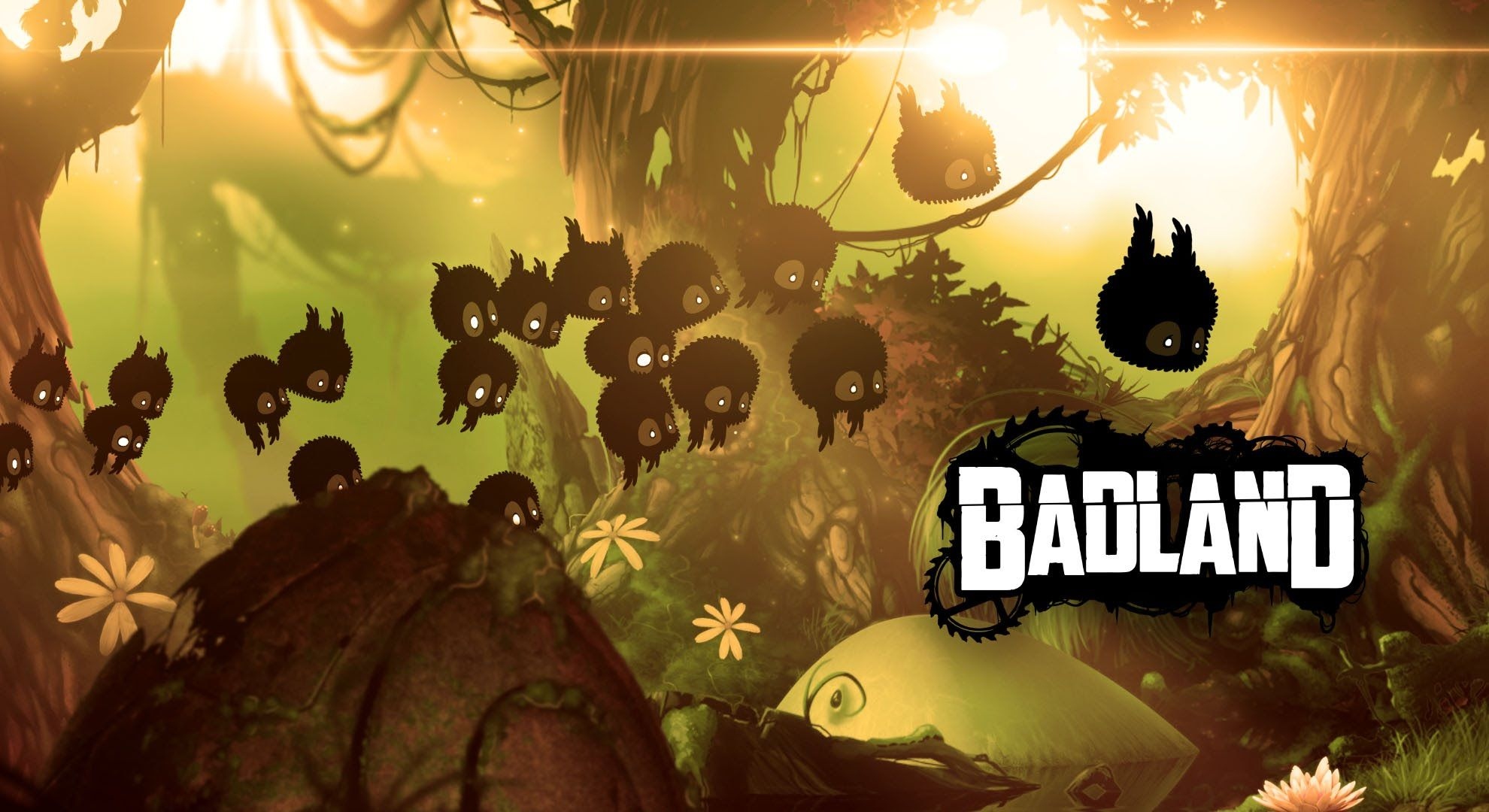Badland is a singlebutton flappybirdlike game that
