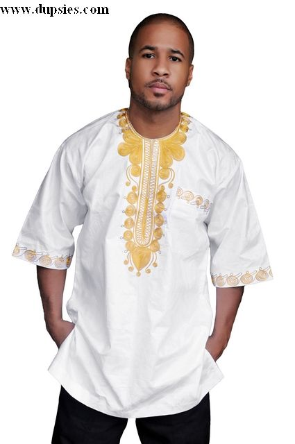 mens african brocade special occasion shirt | White African ...