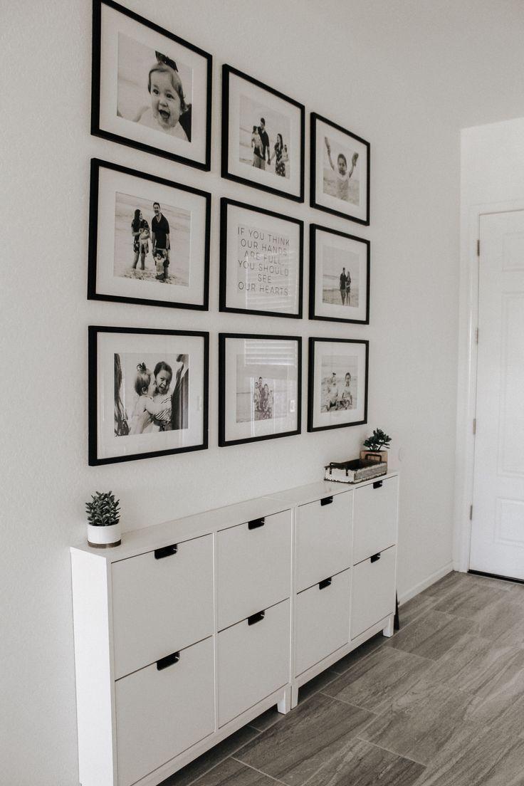Moderne boerderij | boho chic | decor | huis inspiratie | minimalistische gang | s ..., #boe...