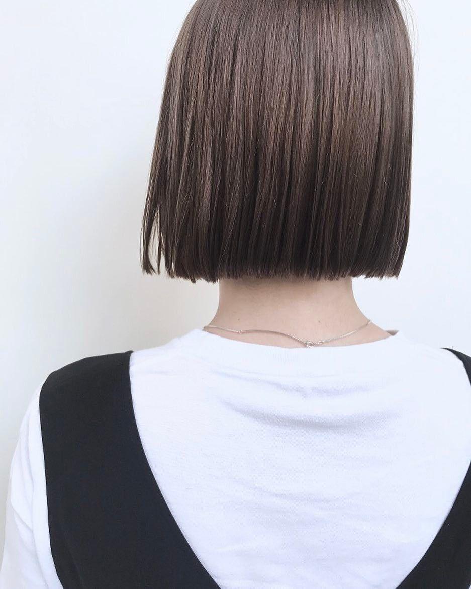 室 奈央子さんはinstagramを利用しています ミニボブ 巻かない