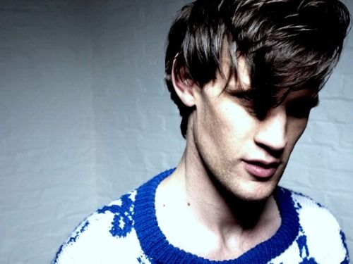 Matt Smith - Idon'tevenlikeyoucutyoursillyhipsterhairandstopwearingsillyhipsterclothinginpublic. Urgh. Myovariesareconfused. I just want to bake you cookies while you tell me about your day.