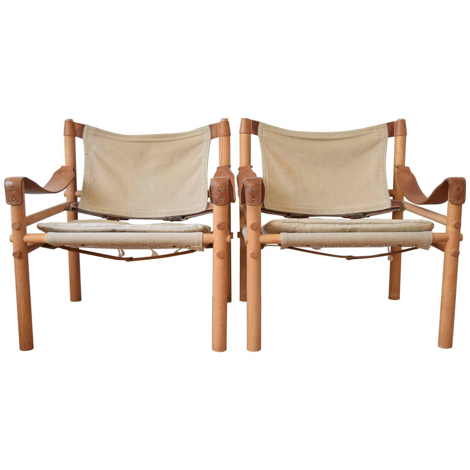 Swedish Mid Century Furniture Swedish Mid Century Sirocco Safari Chairs By Arne Norell From