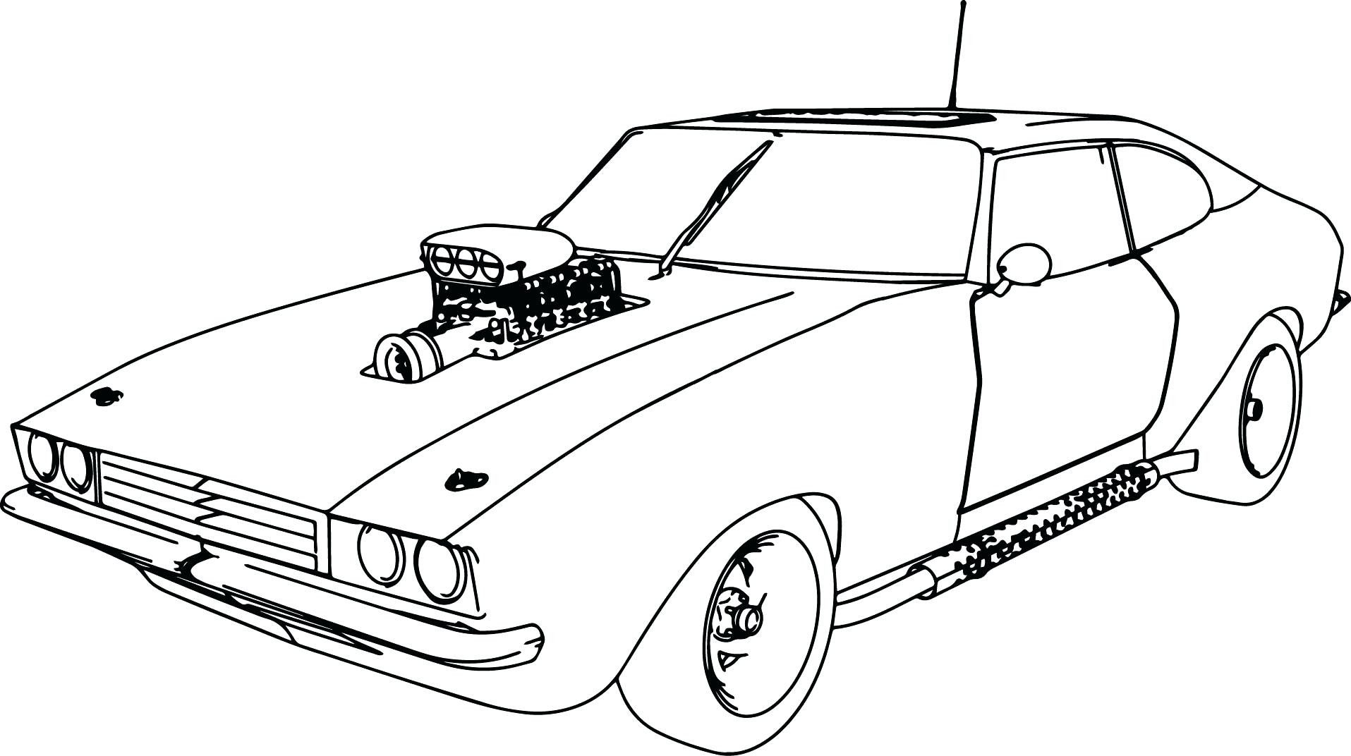 - Car Coloring Pages Cars For Kids Muscles With #AdultColoringPages