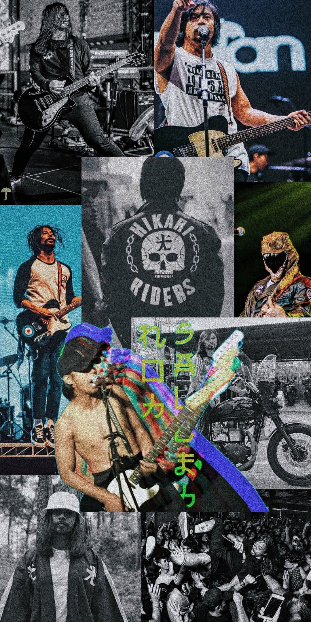 Noh Salleh Band Wallpapers Huawei Wallpapers Gig Posters