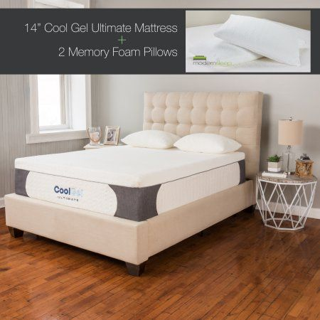 Modern Sleep Cool Gel Ultimate 14 Inch Ventilated Gel Memory Foam