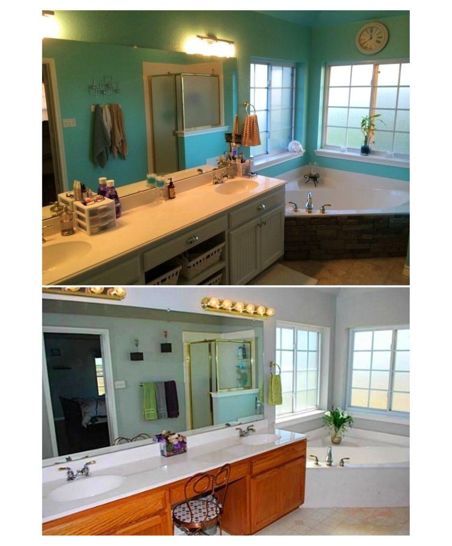 Inexpensive bathroom remodel under 250 vinyl tile floor for Bathroom cabinets jamaica