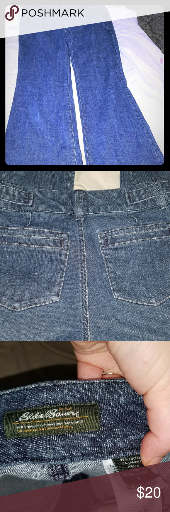 Eddie Bauer Jeans Eddie bauer, Flare jeans, Women shopping