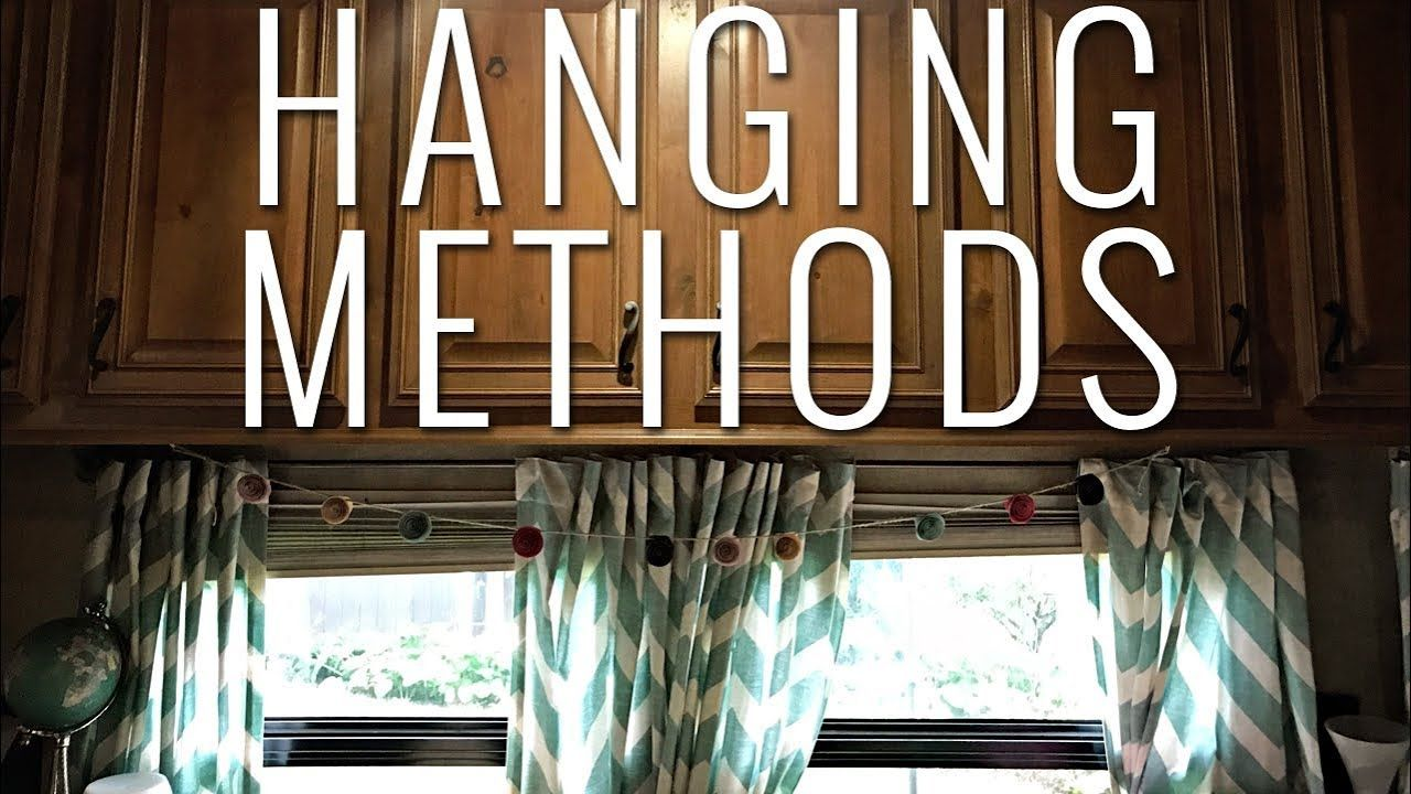 Rv Curtains What Fabric To Use The Best Ways To Hang Them Rv
