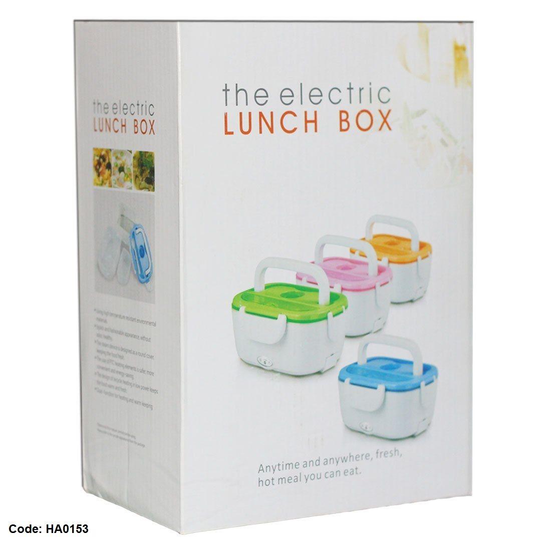 Electric Lunch Box حافظة كهربائية لحفظ وتسخين الوجبات بسعر 200ج بدل من 350ج Hot Meals Lunch Box Eat