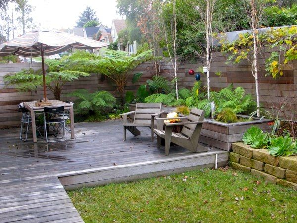 Bilder beispiele modern gartengestaltung sitzecke garden and